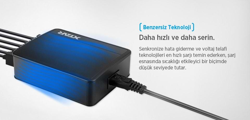 Xtar U1 SIX-U Benzersiz Teknolojili Şarj Cihazı
