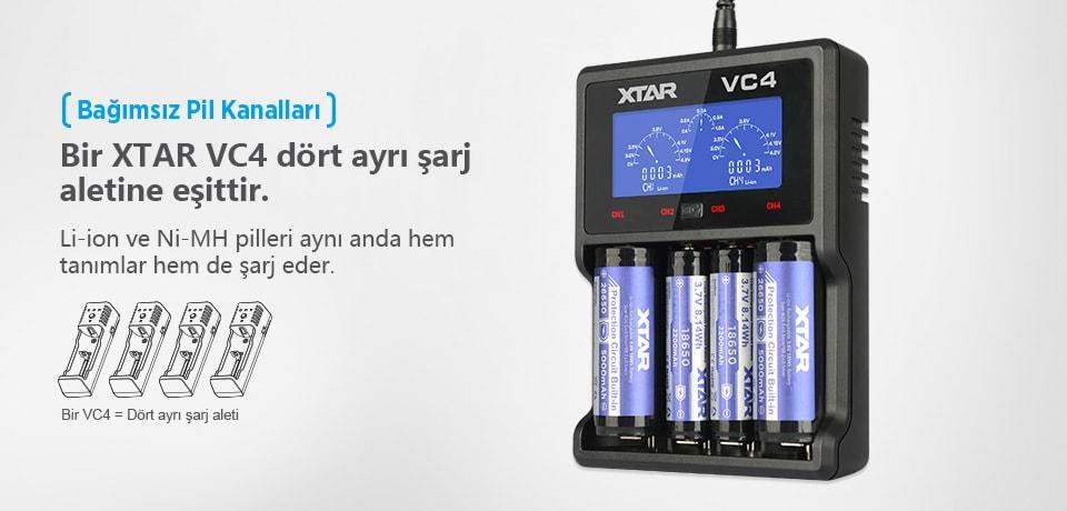 Xtar VC4 OV Canlandırma Özelliği
