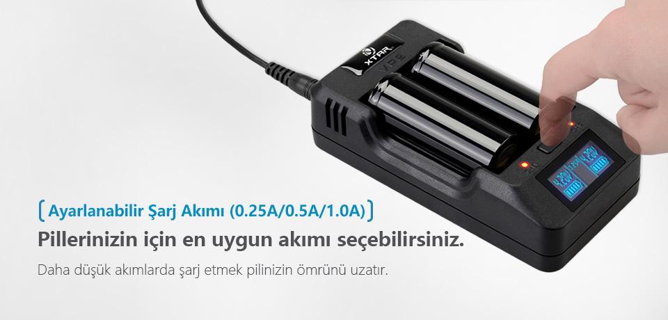 Xtar VP2 Şarj Cihazı