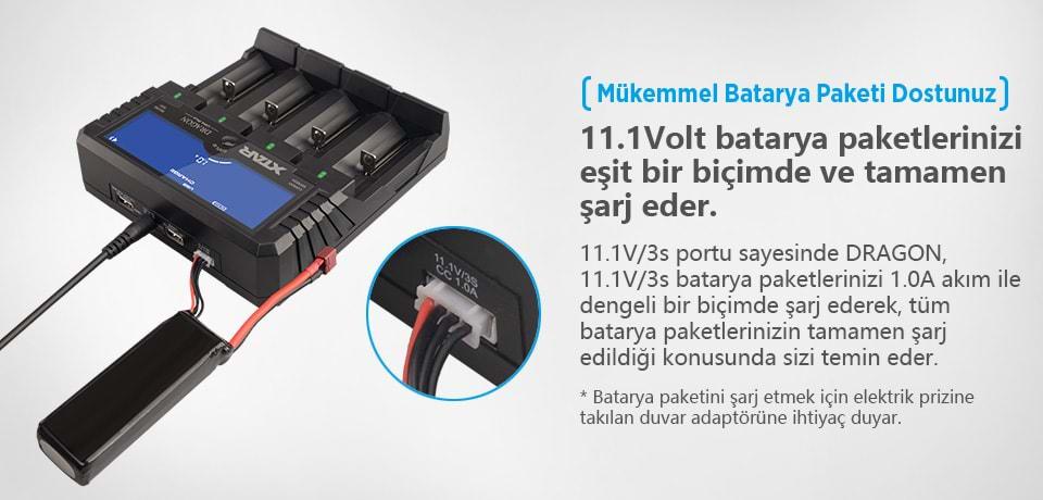 Xtar Dragon VP4 Plus Mükemmel Batarya Paketi Dostunuz