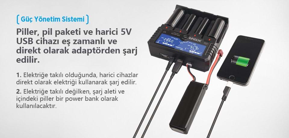 Xtar Dragon VP4 Plus Güç Yönetim Sistemi