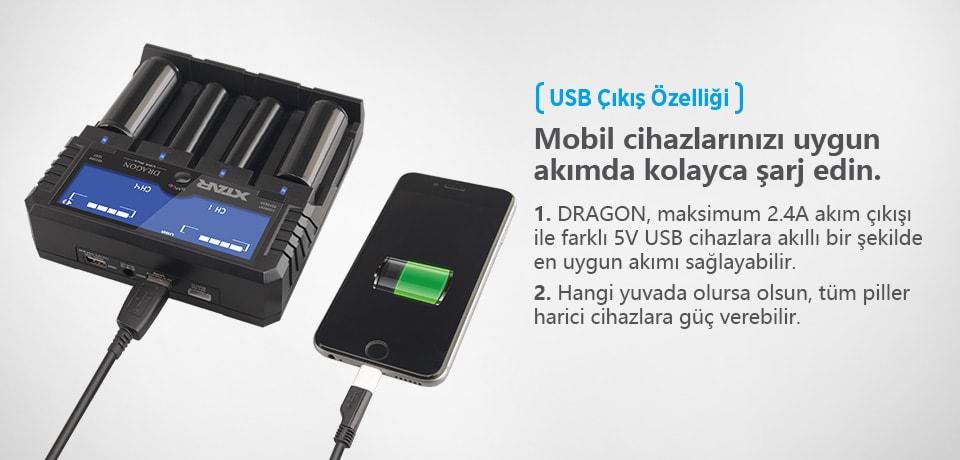Xtar Dragon VP4 Plus Mobil Cihazlarınızı Kolayca Şarj Edin