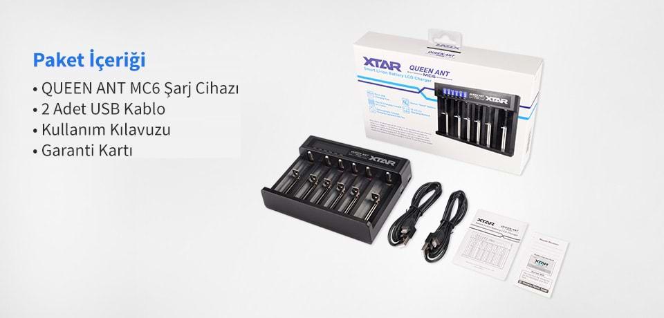 Xtar MC6 USB Şarj Cihazı