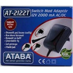 Ataba AT-2122T 12V 2000Mah Switch Mode Adaptör Üç Jacklı