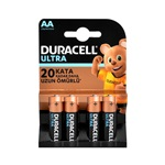 Duracell Ultra Power Powercheck AA Kalem Pil 4lü