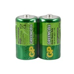 GP 14G R14 Greencell C Size Orta Pil 2li Shrink