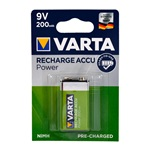 Varta 56722101401 Accu Ready2Use 9V Pil - E 200 mAh 1li