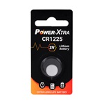 Power-Xtra CR1225 3V Lithium Pil - tekli Blister