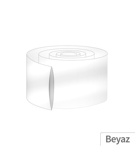 Power-Xtra 55mm 10 Metre PVC Heat Shrink Beyaz