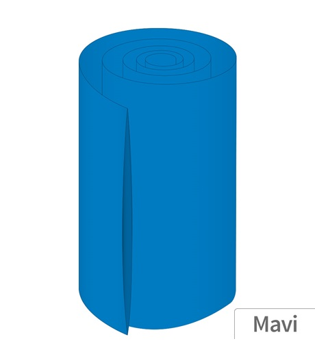 Power-Xtra 330mm 5 Metre PVC Heat Shrink Mavi