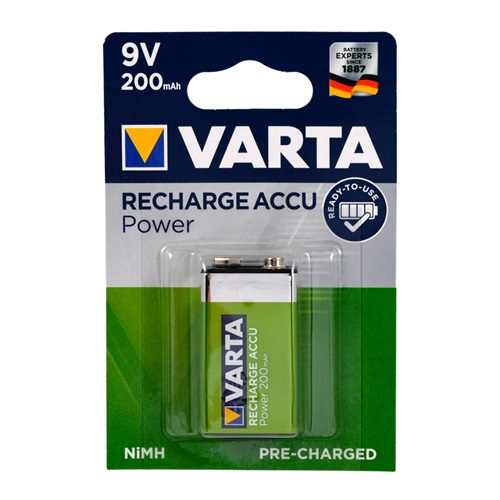 Varta 56722101401 Ready2Use 9V Pil - E 200 mAh 1li