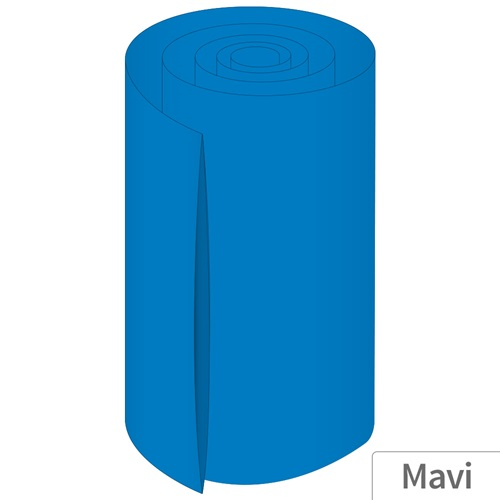 Power-Xtra 200mm 5 Metre PVC Heat Shrink Mavi