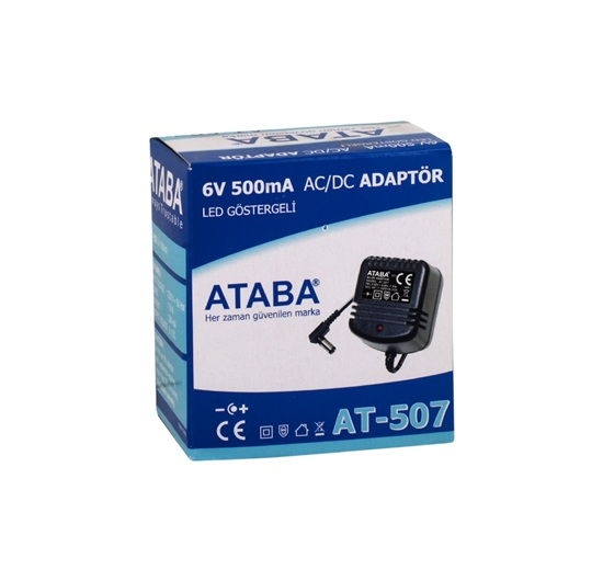 Ataba AT-507 6V 500 mA AC-DC Adaptör