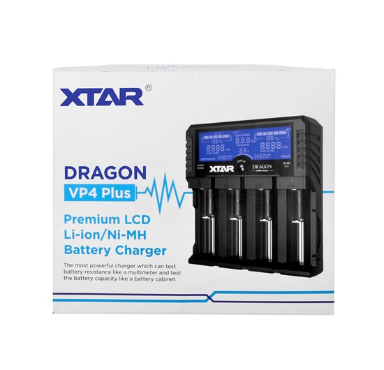 Xtar Dragon VP4 Plus Şarj Cihazı